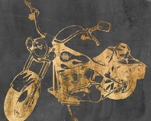 Motorcycle Bling II Digital Print by Goldberger, Jennifer,Decorative