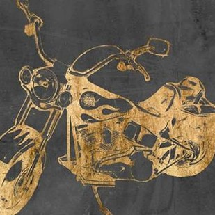 Motorcycle Bling II Digital Print by Goldberger, Jennifer,Decorative