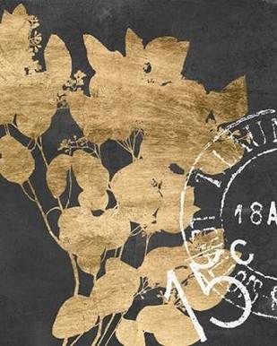 Postage Leaves IV Digital Print by Goldberger, Jennifer,Decorative