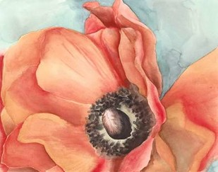 Watercolor Poppy I Digital Print by Meagher, Megan,Decorative