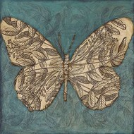 Collage Butterfly I Digital Print by Meagher, Megan,Decorative, Illustration, Image
