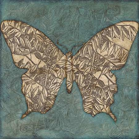 Collage Butterfly II Digital Print by Meagher, Megan,Decorative, Image