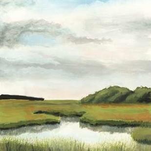 Marsh Landscapes II Digital Print by McCavitt, Naomi,Impressionism