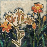 Floral Cutout I Digital Print by Meagher, Megan,Impressionism