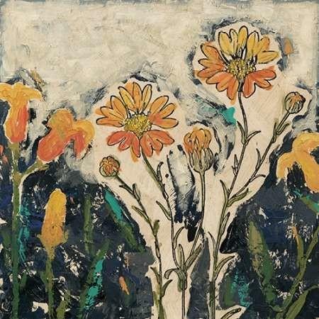 Floral Cutout II Digital Print by Meagher, Megan,Impressionism