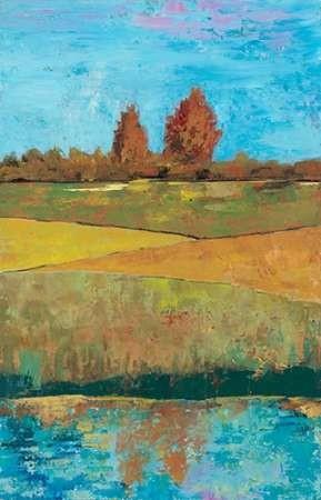 Impressionist Meadow I Digital Print by Altug, Mehmet,Impressionism