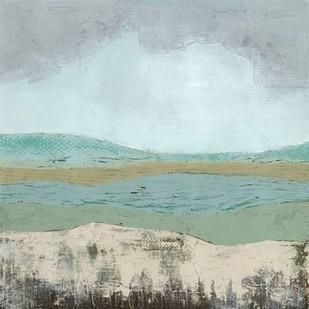 Pastel Mooreland I Digital Print by Popp, Grace,Impressionism