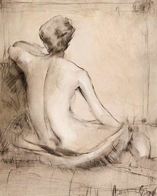 Neutral Nude Study I Digital Print by Otoole, Tim,Illustration