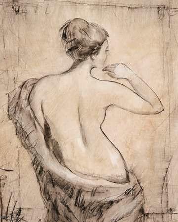 Neutral Nude Study II Digital Print by Otoole, Tim,Expressionism, Illustration