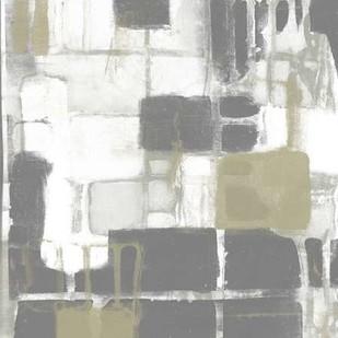 Neutral Quadrants II Digital Print by Goldberger, Jennifer,Abstract