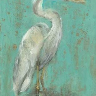Seaspray Heron I Digital Print by Goldberger, Jennifer,Impressionism