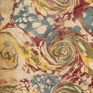 Marbleized I Digital Print by Vision Studio,Abstract