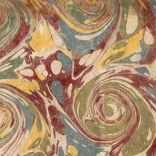 Marbleized II Digital Print by Vision Studio,Abstract
