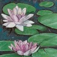 Tranquil Lilies II Digital Print by McCavitt, Naomi,Impressionism