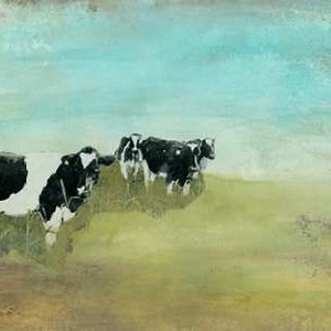 Country Drive Cows II Digital Print by McCavitt, Naomi,Impressionism