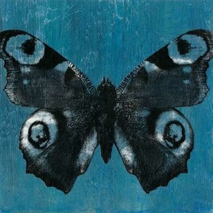 Chambray Butterflies I Digital Print by McCavitt, Naomi,Decorative