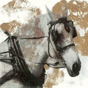 Driving Horses II Digital Print by McCavitt, Naomi,Impressionism