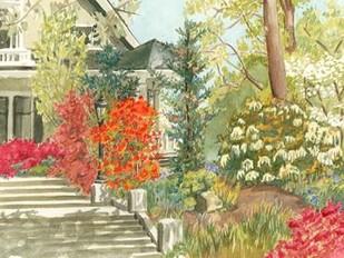 Plein Air Garden I Digital Print by Miller, Dianne,Impressionism