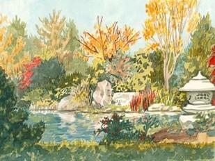 Plein Air Garden IV Digital Print by Miller, Dianne,Impressionism