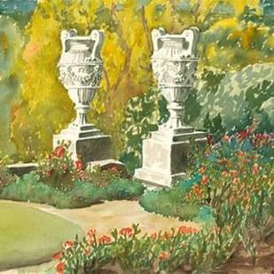 Plein Air Garden V Digital Print by Miller, Dianne,Impressionism