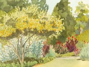 Plein Air Garden VI Digital Print by Miller, Dianne,Impressionism