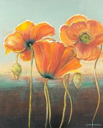 Poppy Tops I Digital Print by Russell, Wendy,Decorative