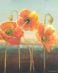 Poppy Tops II Digital Print by Russell, Wendy,Decorative