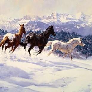 Winter Spirits Digital Print by Goldrick, Claire,Impressionism