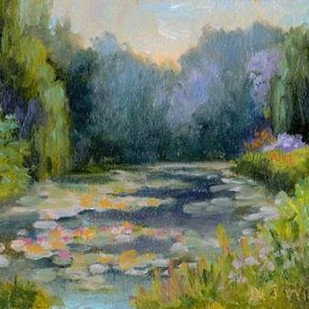 Monets Garden I Digital Print by Weber, Mary Jean,Impressionism