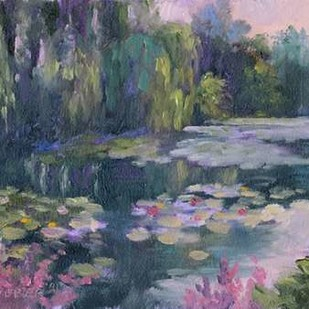 Monets Garden II Digital Print by Weber, Mary Jean,Impressionism
