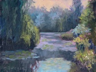 Monets Garden III Digital Print by Weber, Mary Jean,Impressionism