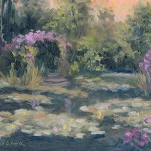 Monets Garden IV Digital Print by Weber, Mary Jean,Impressionism