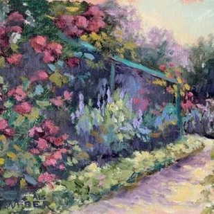 Monets Garden VI Digital Print by Weber, Mary Jean,Impressionism
