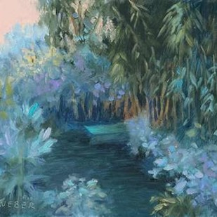 Monets Garden VII Digital Print by Weber, Mary Jean,Impressionism