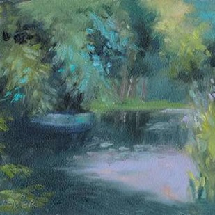 Monets Garden VIII Digital Print by Weber, Mary Jean,Impressionism