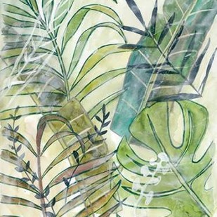 Layered Palms I Digital Print by Zarris, Chariklia,Impressionism