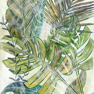 Layered Palms II Digital Print by Zarris, Chariklia,Impressionism