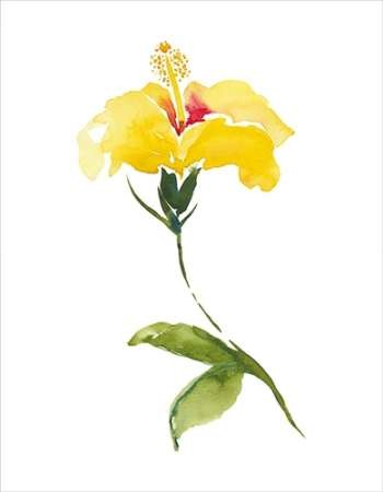 Watercolor Garden II Digital Print by Mosley, Kiana,Art Deco