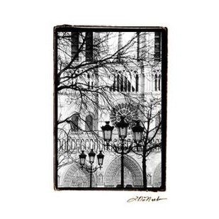 Notre Dame Cathedral II Digital Print by DeNardo, Laura,Image