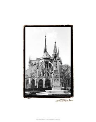 Notre Dame Cathedral III Digital Print by DeNardo, Laura,Image