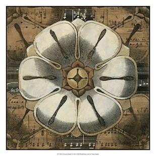 Rosette Detail I Digital Print by Vision Studio,Decorative