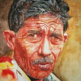 Toughness Digital Print by Uday Bhan,Realism