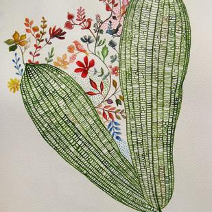 Untitled 3 by Debarati Roy Saha, Decorative Painting, Mixed Media on Paper,