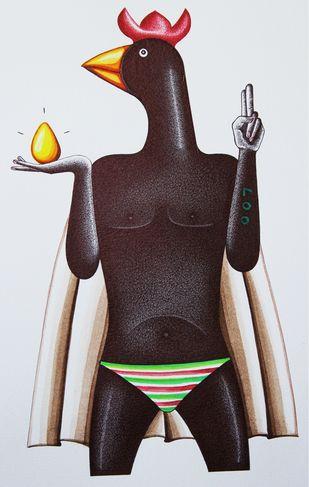 Untitled Artwork By Rajmahamad Pathan