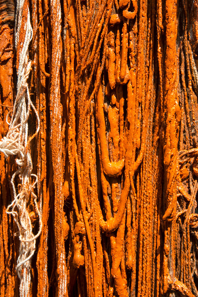 Threads Of Faith by Udit Kulshrestha, Image Photography, Digital Print on Archival Paper, Brown color