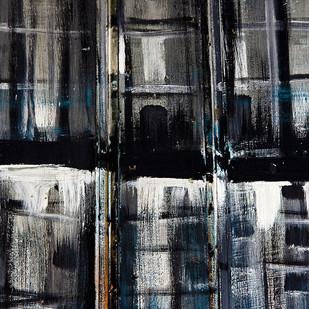 Graphien - Ch III - 09 by Udit Kulshrestha, Image Digital Art, Digital Print on Canvas, Gray color