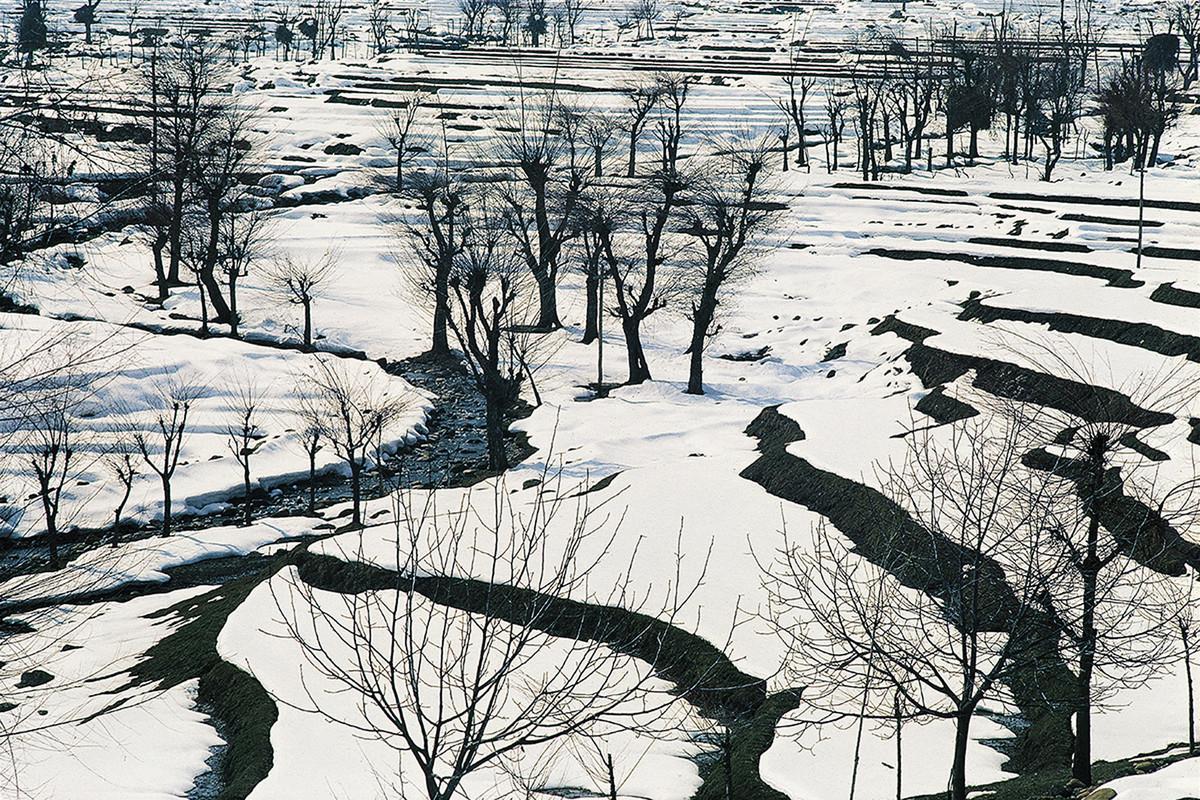 Himalaya 07 by Ashwin Mehta, Image Photography, Digital Print on Paper, Gray color