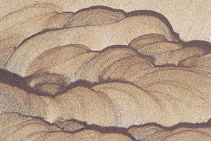 Designs In Nature 17 by Ashwin Mehta, Image Digital Art, Digital Print on Paper, Beige color