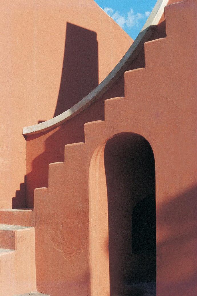 Jantar Mantar 24 by Ashwin Mehta, Image Photography, Digital Print on Paper, Brown color