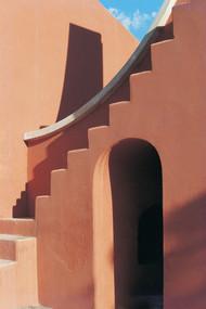 Jantar Mantar 24 by Ashwin Mehta, Image Photography, Digital Print on Paper, Brown color